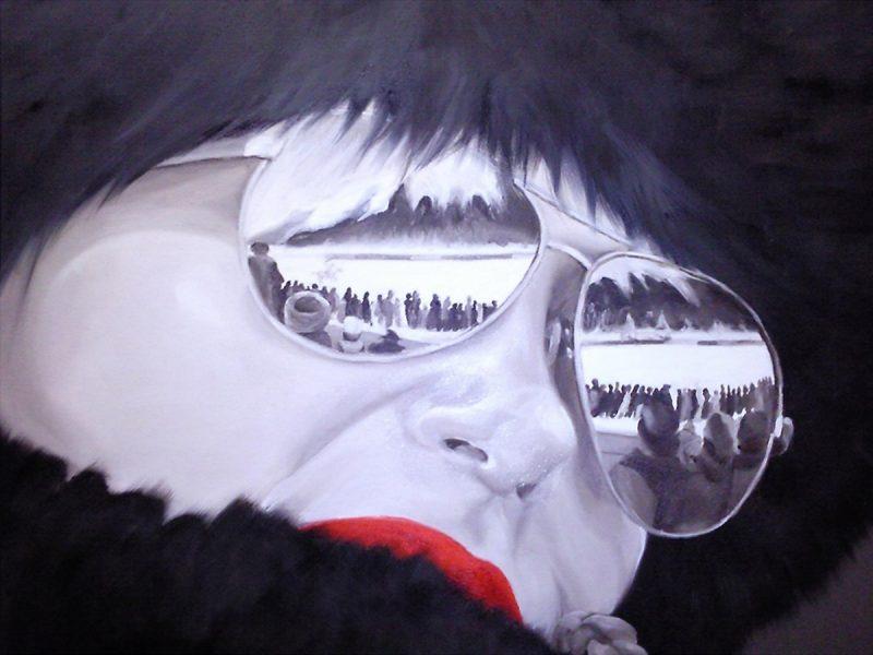 Manuela_Mollwitz_Painting_Zuschauerin_1