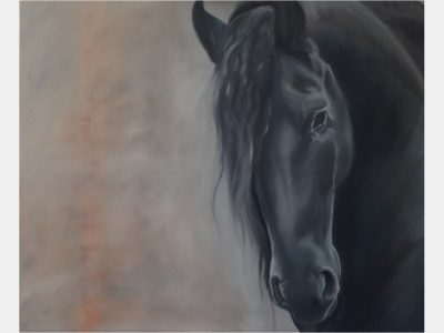 Manuela_Mollwitz_Painting_Frisian_Horse_1
