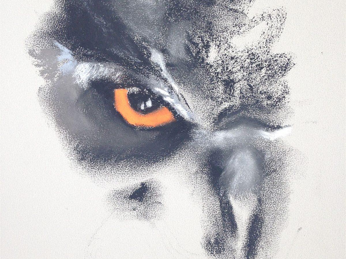 Manuela_Mollwitz_Painting_Owl_1