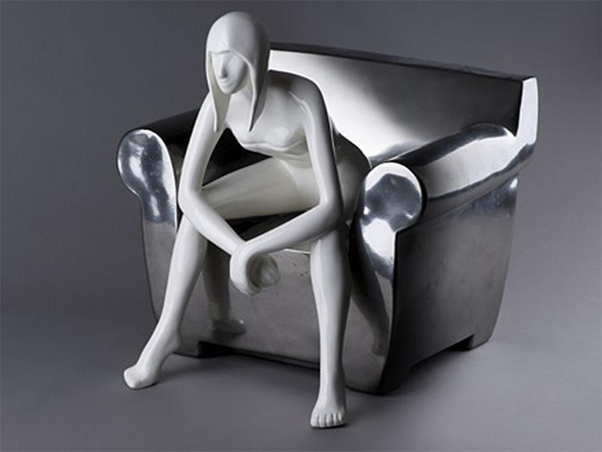 Manuela Mollwitz Sculpture: Ti Ascolto